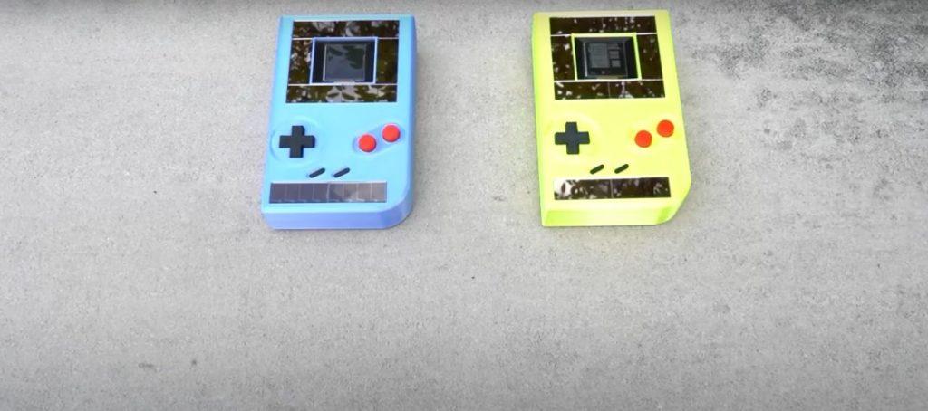Game Boy sin batería
