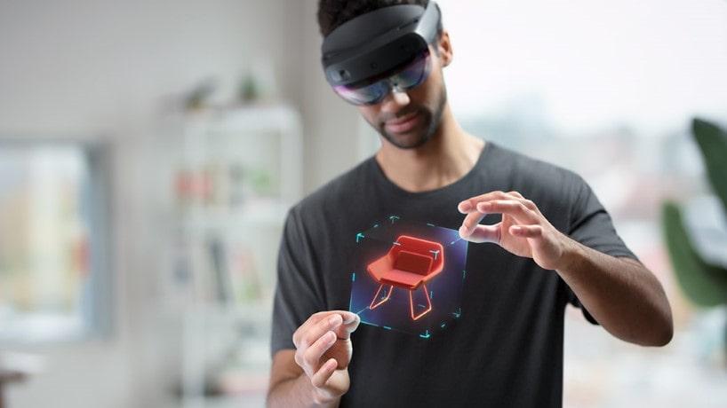 Lentes de realidad virtual HoloLens 2