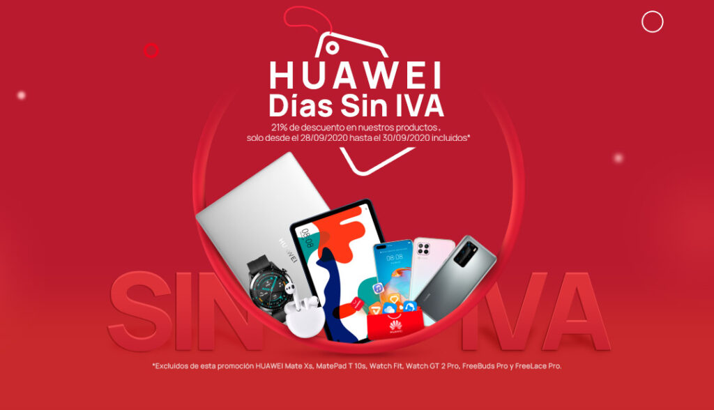 Huawei Días sin IVA