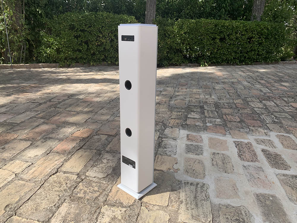 Smart Speaker 7 Tower trasera