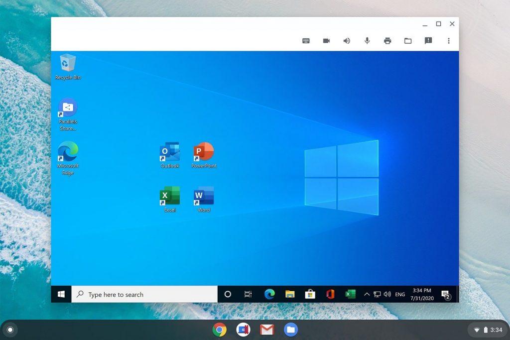 Parallels Desktop con Microsoft Office