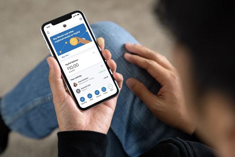 PayPal permitirá comprar, vender y guardar criptomonedas.