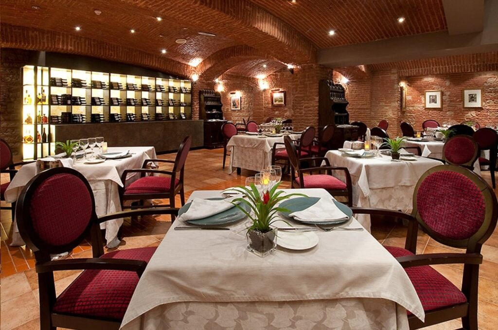 Restaurante del hotel Crowne Plaza Barcelona