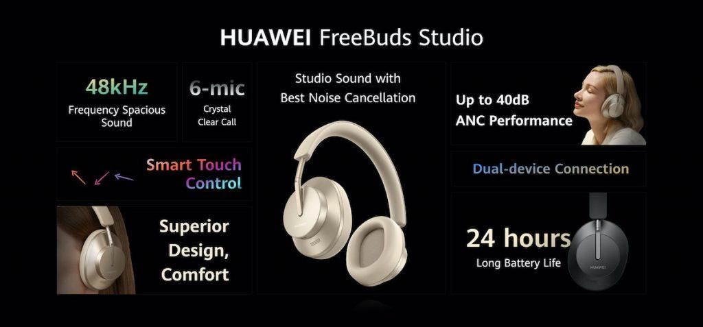 freebuds studio todas las caractericticas