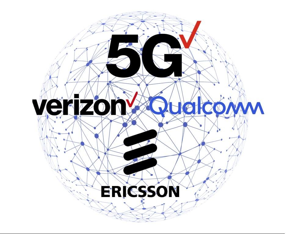 Verizon Ericsson y Qualcomm mejoran la red 5G