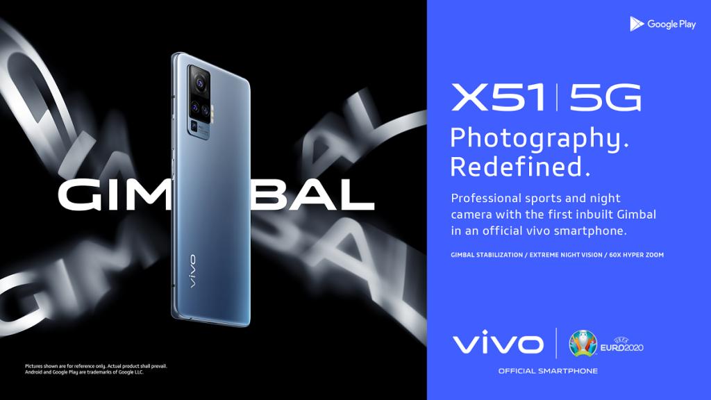 Estabilizador Gimbal vivo X51 5G