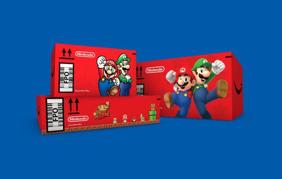 Pedidos de Amazon serán enviados en cajas de Mario Bros
