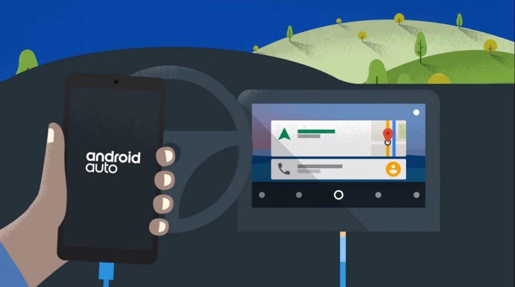 Conectar Android Auto por cable