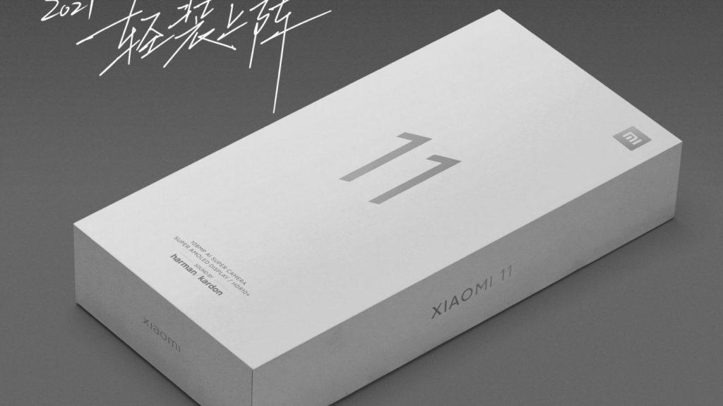 Caja de Xiaomi Mi 11 vendrá sin cargador.