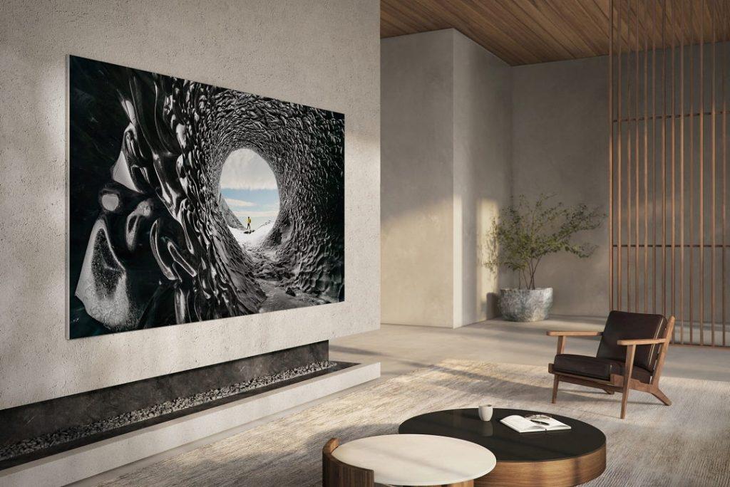 Televisor 4K MicroLED de 110 pulgadas de Samsung.