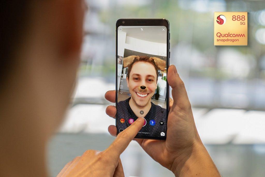 Snapdragon 888 5G cámara