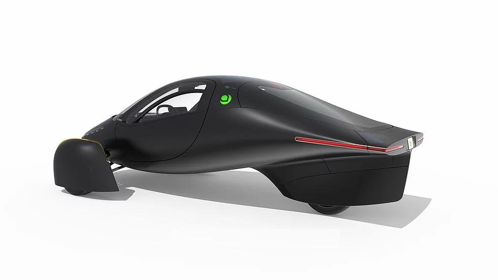 Nuevos vehículos eléctricos de Aptera.