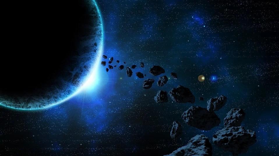 asteroides podrían albergar gérmenes extraterrestres.