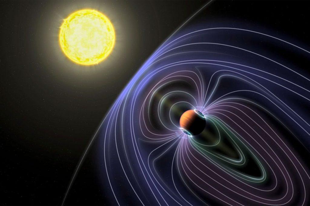 Primera potencial señal de radio  de un exoplaneta.