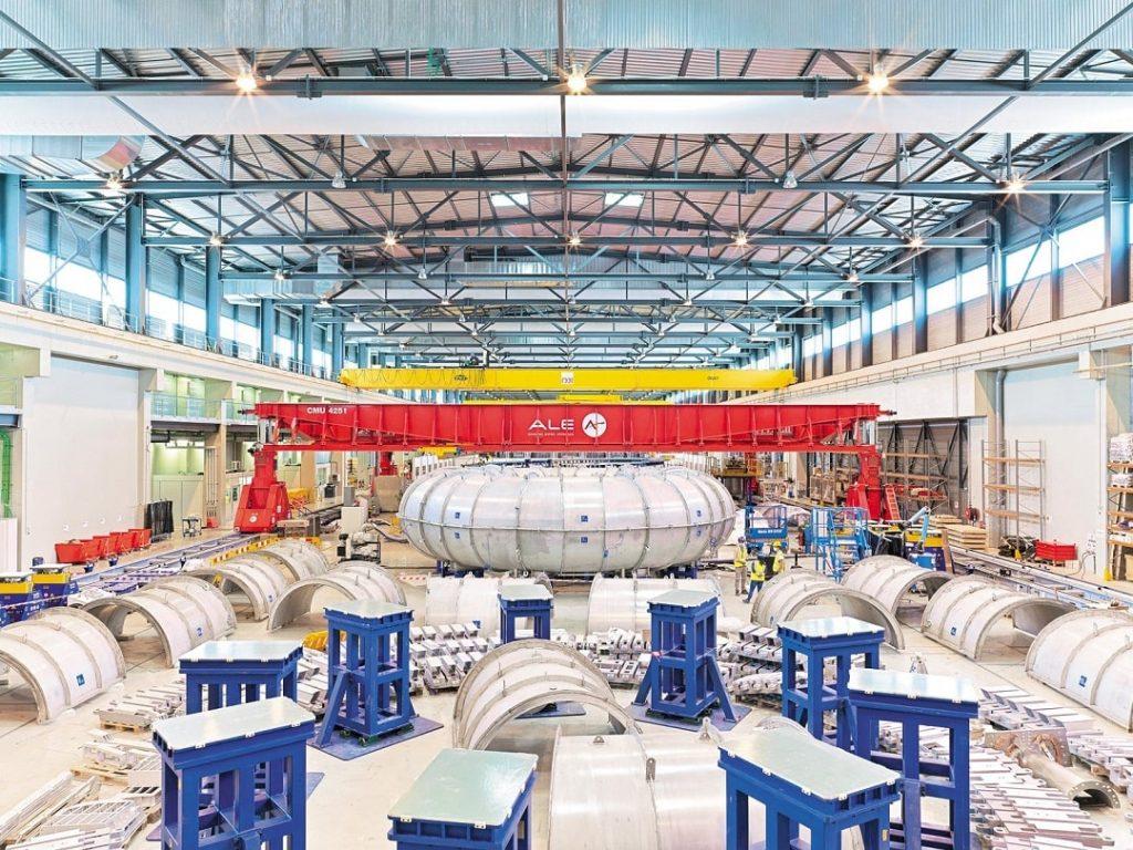 Reactor de fusión nuclear ITER.
