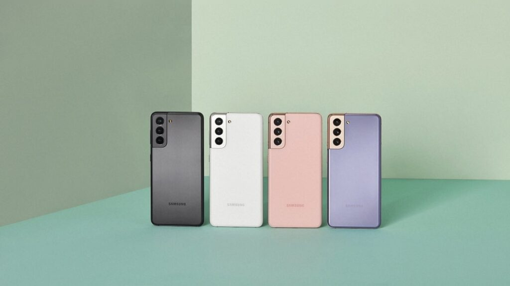 Samsung Galaxy S21 5G y Galaxy S21+ 5G.