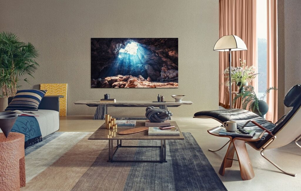 Televisor Neo QLED de Samsung.