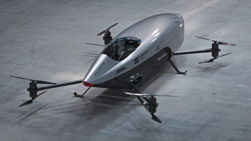 Airspeeder Mk3: el nuevo coche de carreras volador y eléctrico de Alauda.