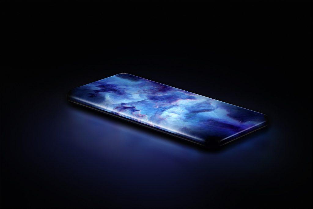 Nuevo concepto de pantalla de cascada de cuatro curvas de 88° de Xiaomi.