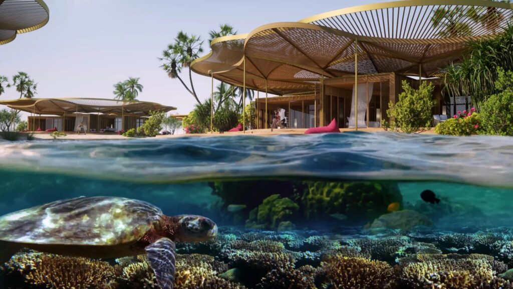 Coral Bloom será alimentado por la batería más grande del mundo.