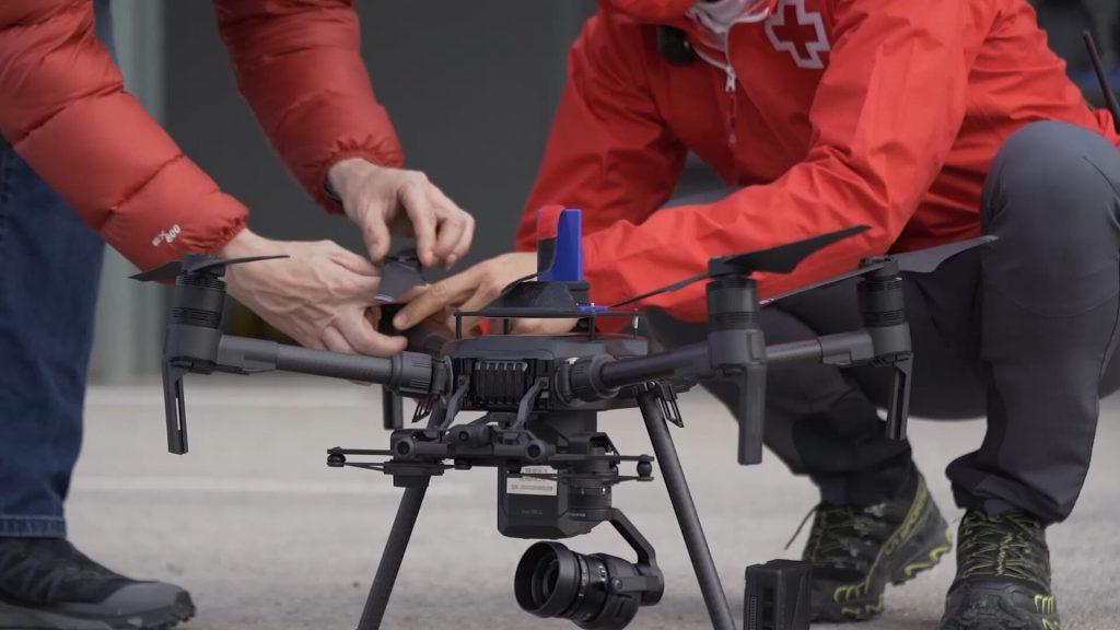 Drones de red 5G