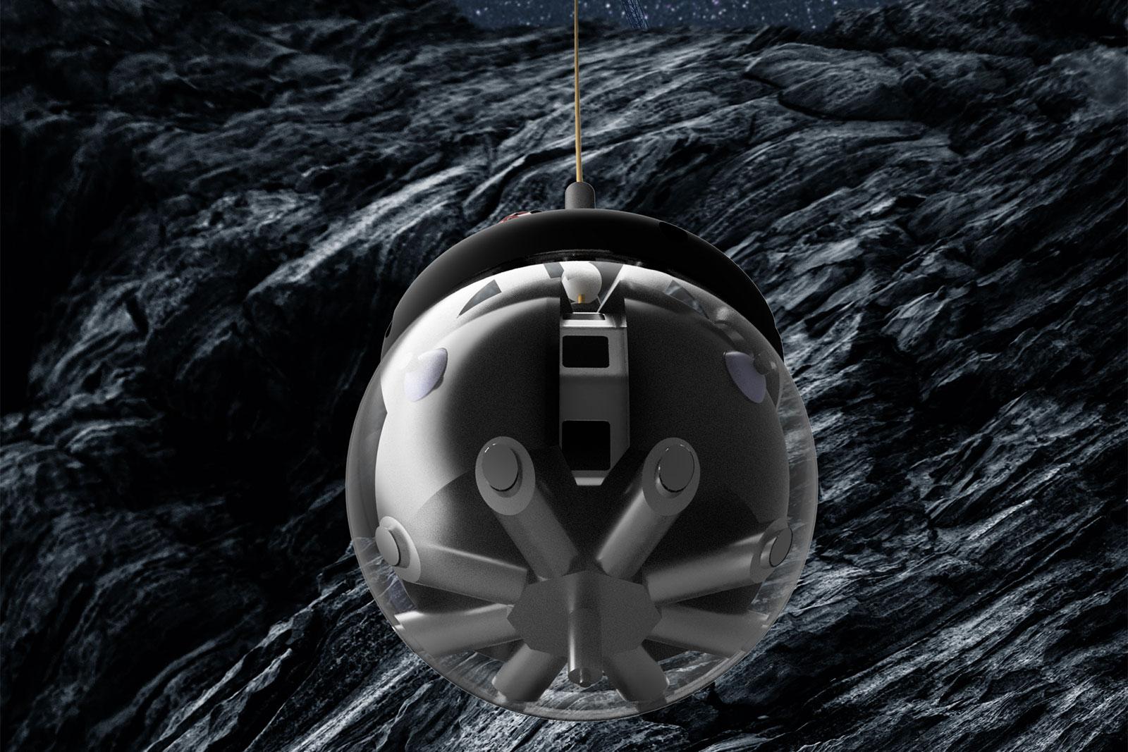 robot bola de hámster