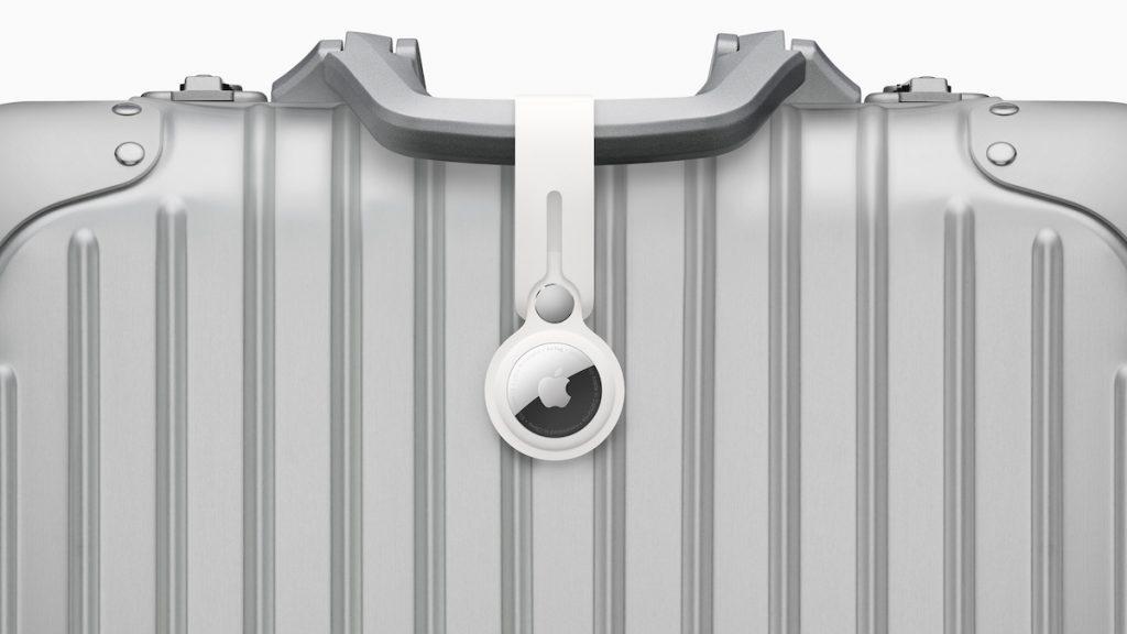 AirTag en una maleta