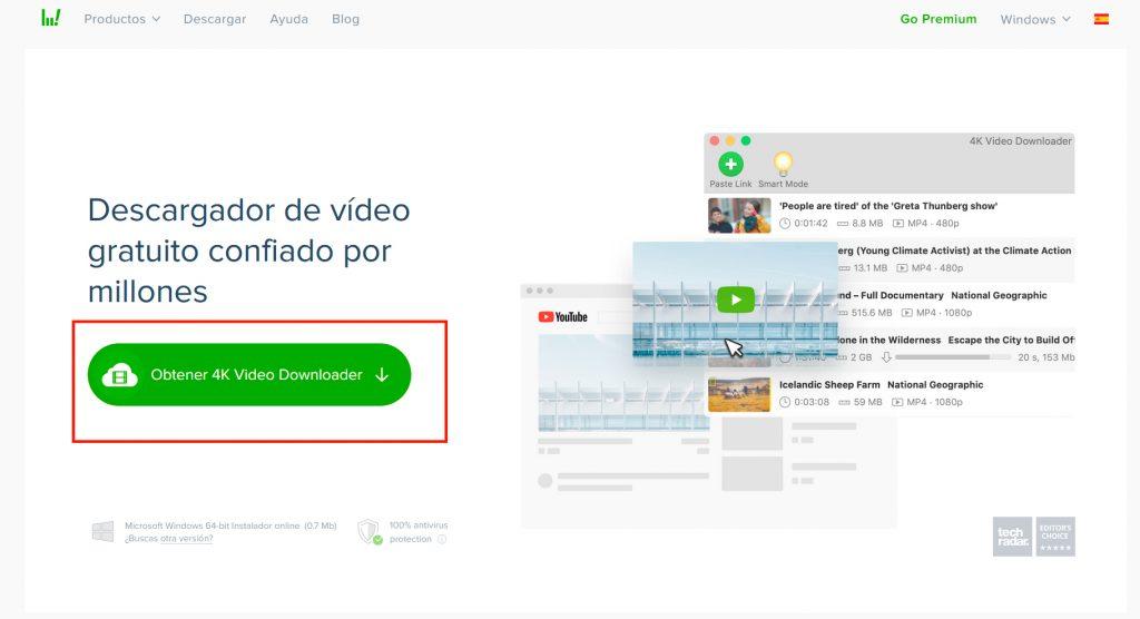 Cómo descargar vídeos de Youtube con 4K Video Downloader