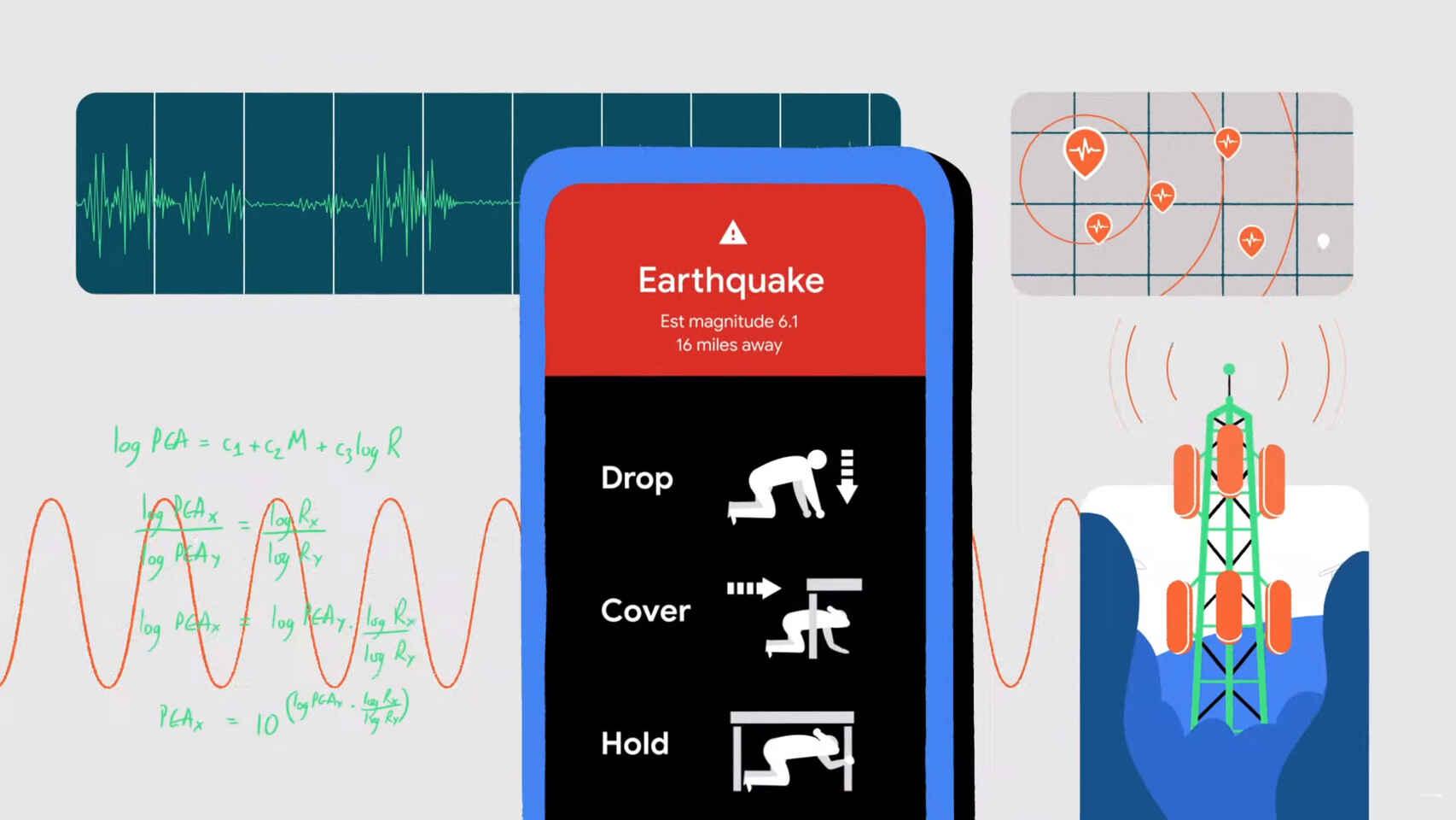 alertas de terremotos de Google en tu Android