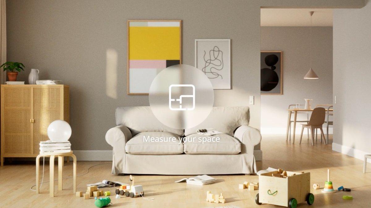 app de realidad aumentada Ikea studio