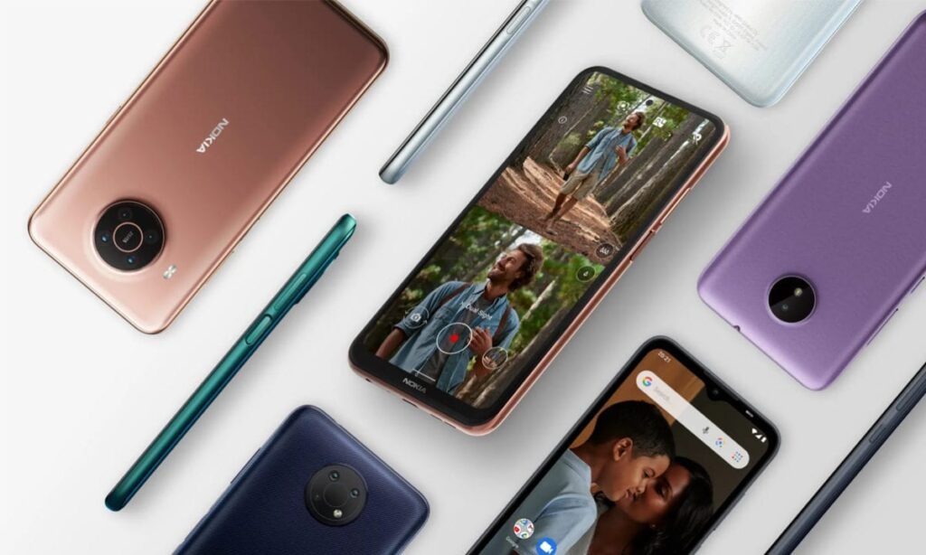 dispositivos Nokia listo
