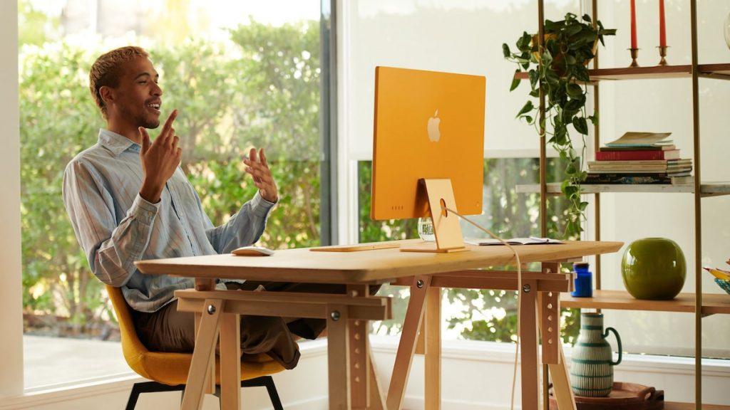 iMac oficina
