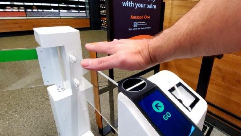 nuevo metodo de pago con la palma de la mano