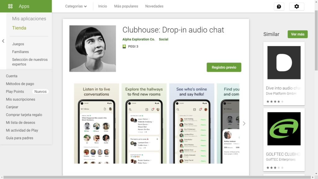 Clubhouse ya está disponible para Android-min