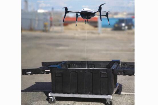 Easy Guard, hangar portátil de drones