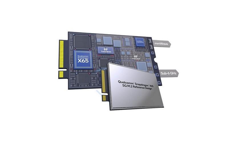 Snapdragon X65 y X62 5G M.2