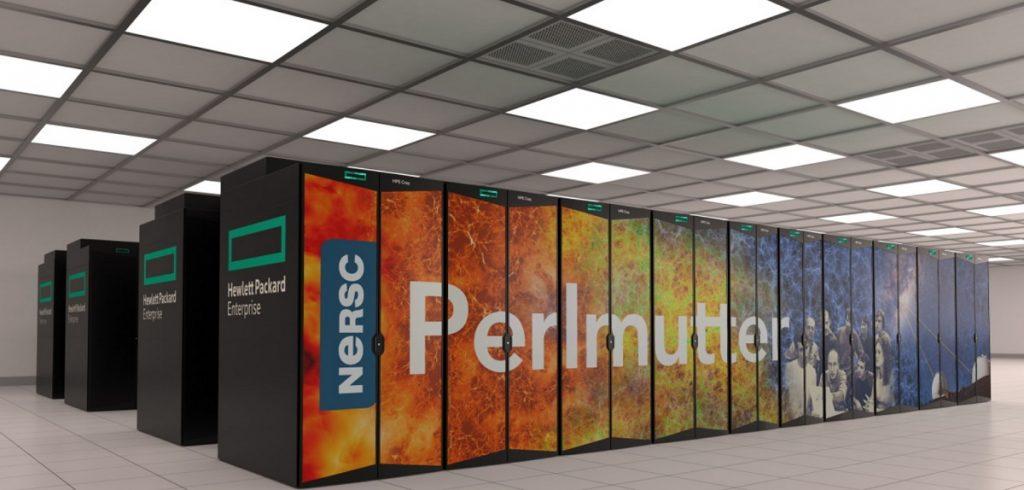 Supercomputadora Perlmutter.