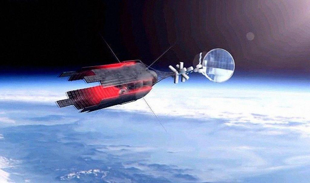 Remolcador espacial ruso.