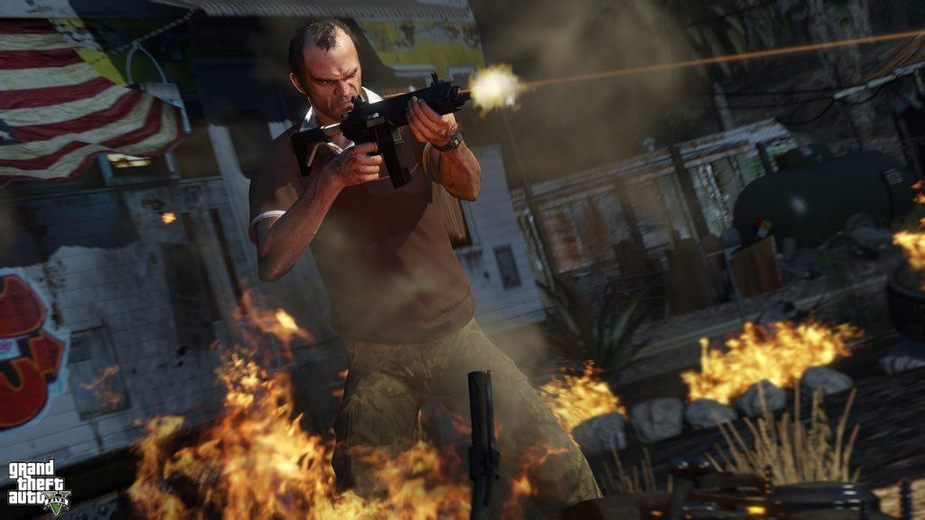 Capturas de pantalla de GTA V