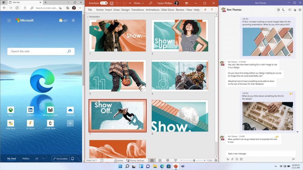 Windows 11: multitareas.