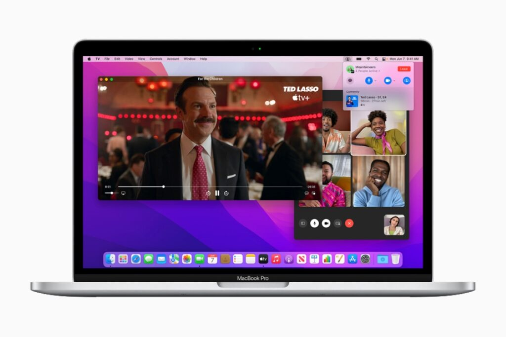 macOS Monterey FaceTime