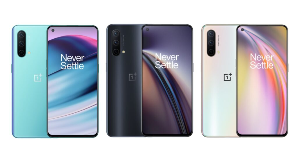 OnePlus Nord CE 5G.