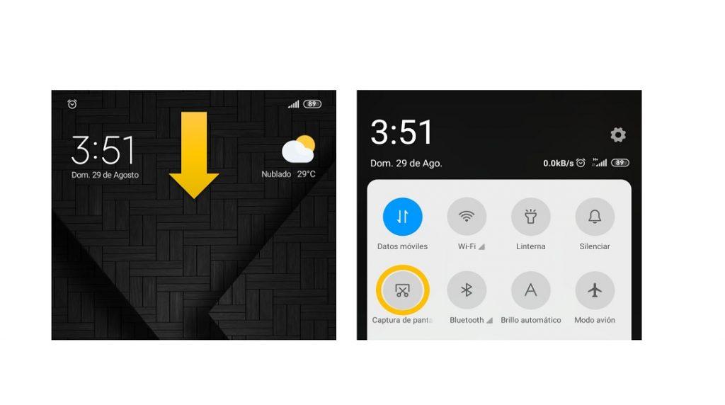 Captura de pantalla Redmi Note 9.