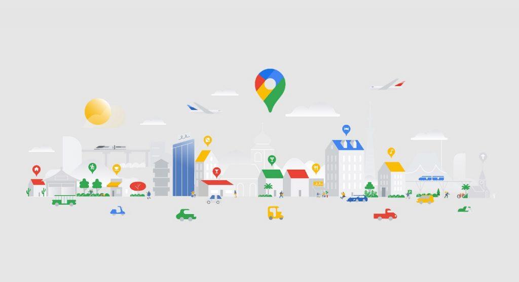 Nueva normalidad según Google Maps