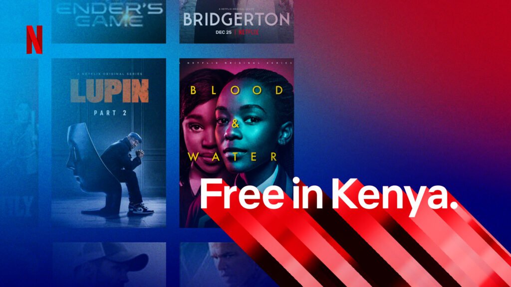Netflix gratis en Kenia