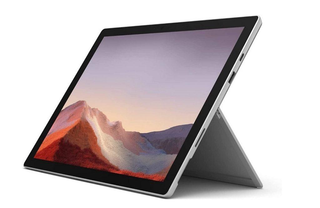 Mejores ordenadores para estudiar medicina en 2021: Microsoft Surface Pro 7.